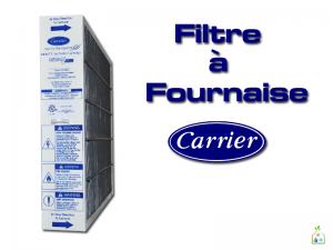 Il est recommandé de vérifier et de remplacer votre filtre Carrier au 3 mois. Un filtre bloqué par la saleté peut faire forcer le moteur de votre fournaise et diminuer la durée de vie de celui-ci. Un nouveau filtre offrira de nouveau une filtration optimale et une bonne circulation d'air. SGL Climatisation Chauffage vend et remplace les filtres Carrier. Nos techniciens peuvent se déplacer à votre domicile pour faire le remplacement de vos filtres et la vérification de votre fournaise ou bien, nous pouvons vous livrer vos filtres (une boîte) directement à votre domicile. Contactez-nous pour plus d'information, il nous fera plaisir de vous répondre!