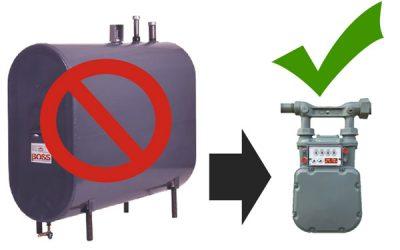 Subvention Chauffez Vert : Remplacement d'un système de chauffage central au mazout par un système de chauffage électrique.