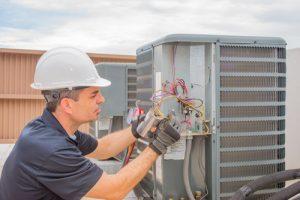 Réparation d'un climatiseur central