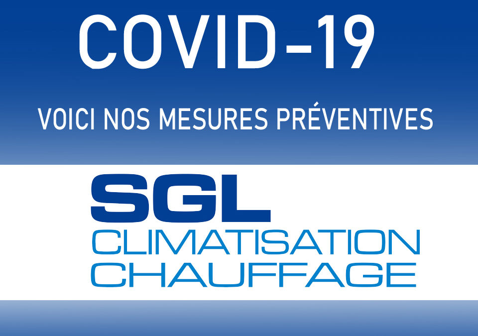 Mesure prises pour le COVID-19