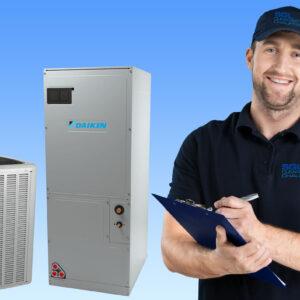 Plan d'entretien : Fournaise à air pulsé avec thermopompe ou climatiseur