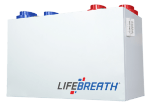 Échangeur d'air Lifebreath VRC 89 PI³/MIN 60 ERS RNC6-HEX-TPD