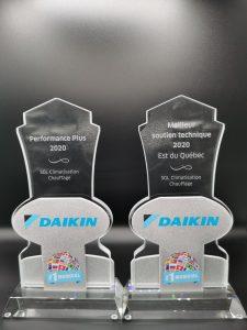 Distinctions Daikin