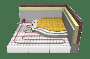 Installation plancher chauffant plancher radiant quebec